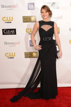 Jennifer Lawrence flaunts a Prabal Gurung gown at the 18th Annual Critics' Choice Awards