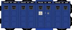 How to make all the Doctors, the Tardis, weeping angels, etc etc out of paper.  There goes my weekend.