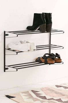 Luxury Wall Mounted Shoe Cabinet
