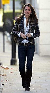 Kate Middleton - I just love her style!  Such a classy girl and part of my new wardrobe inspiration.