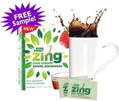 Free Zing Stevia Sweetener at Walmart