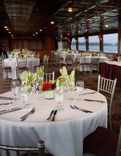 Boston's unique wedding venue - Seaport Elite II, private yacht. Boston Wedding Venues, Unique Wedding Venues, Wedding Reception, Function Hall, Private Yacht, Cape Cod Wedding, Lisa, Table Settings, Table Decorations