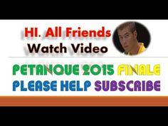 Petanque | Petanque video | finale masters petanque | boules boule ms pe...