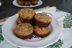 banana cacao muffins - Rubies & Radishes