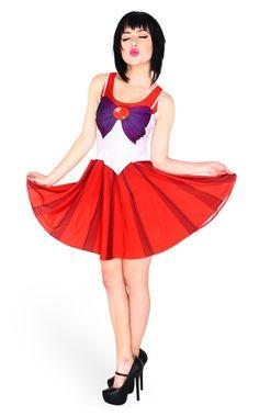 Sailor Scouts Skater Dresses