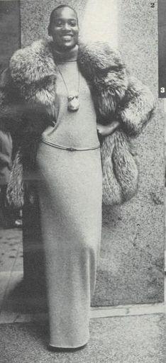 Naomi Sims for VOGUE 1970's.