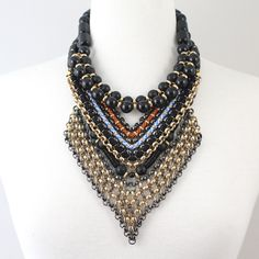 Layered necklaces from the SOLLIS jewellery AZTEC Collection. WWW.SOLLISJEWELLERY.COM