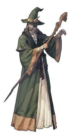 Tactics Ogre: Let Us Cling Together Concept Art Male Character, Character Portraits, Fantasy Character Design, Character Design Inspiration, Character Concept, Concept Art, Fantasy Wizard, Fantasy Rpg, Medieval Fantasy
