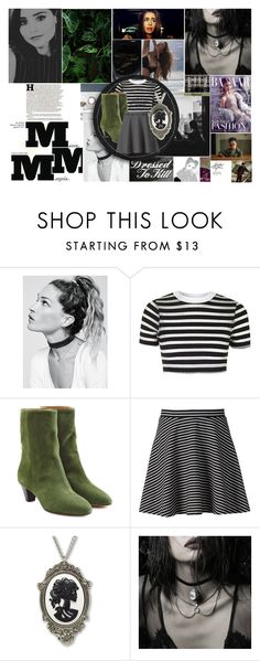 """""""With just one breath, I'm locked in."""" by midnighthorse ❤ liked on Polyvore featuring Free People, Topshop, Étoile Isabel Marant, Apt. 9, REGALROSE and Maison Margiela"""