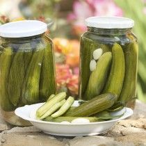 Mouneh - Lebanese Pickles and the Pickling Process