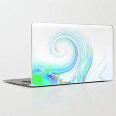 Re-Created  Tsunami EIGHT Laptop & iPad Skin by Robert S. Lee - $30.00