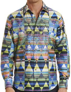 This is a preowned Robert Graham Land Bridge medium-sized shirt. No issues. We ship worldwide fully insured. Robert Graham, Cool Shirts, Style Me, Long Sleeve Shirts, Men Casual, Mens Tops, Collection, Fashion, Moda