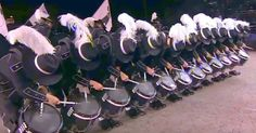 The Top Secret Drum Corps, from Basel, Switzerland performed at the Edinburgh Tattoo. Their performance was perfection. These highly trained performers are always working towards improving, and when they had the opportunity to display a design around the idea of the digital age, they..