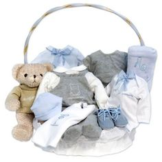 Canastilla Casual Plena.Canastillas Bebé. Baby Gift Baskets