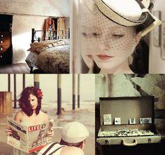 1940s trend inspiration wedding engagement vintage