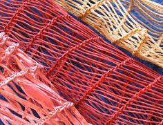 Burkina weave, various materials Anna-Maria Väätäinen