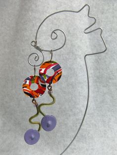 Curvy Earrings by droolworthy on Etsy