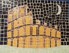 Colloseum Mosaic | Diana Morris' ePortfolio Ancient Egyptian Art, Ancient Rome, Ancient Greece, Ancient Aliens, Mosaic Diy, Mosaic Crafts, Mosaics For Kids, Roman History, European History