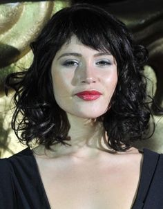 Gemma Arterton Trendy Medium Hairstyle