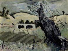 Landscape with Tree, Milton Avery