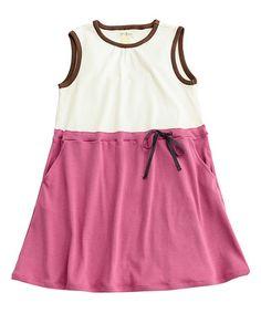 Warm Blush Nadine Dress - Toddler & Girls #zulily #zulilyfinds