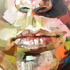 Painting Portrait Abstract Inspiration 50 Ideas For 2019 Abstract Portrait Painting, Portrait Acrylic, Abstract Painters, Portrait Art, Figure Painting, Painting Canvas, Acrylic Paintings, Metal Flower Wall Art, Metal Tree Wall Art