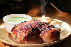 Feasty Geeks: Mrs. Miggins' Scarlet Chicken in a Pimpernel Sauce...