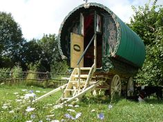 Gypsy Camping in Somerset