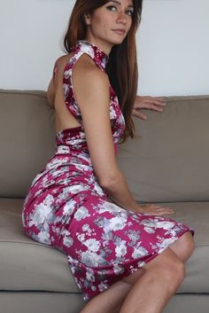Gorgeous floral pattern to dress you up to tango. More tango dresses on our online shop www.malvontango.com 🌹 Tango Dress, Cool Designs, Feminine, Elegant, Floral, Skirts, Pattern, Clothes, Collection