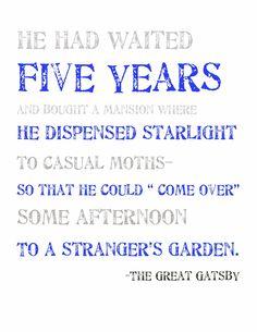 Gatsby, The Great Gatsby (F. Scott Fitzgerald) | The Great Gatsby | 2013 | Baz Luhrmann | Leonardo DiCaprio | Carey Mulligan