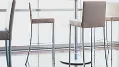 Designed with light and airy clean lines and available in counter or bar heights, the Switch Stool functions easily in a variety of environments. Peruvian Restaurant, Contemporary Bar Stools, Upholstered Bar Stools, Reception, Lounge, Big, Table, Furniture, Design