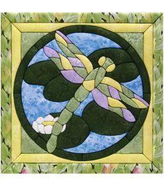 "Dragonfly Quilt Magic Kit-12""X12""Dragonfly Quilt Magic Kit-12""X12"","