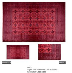 large high quality rug on wall to wall floorboards