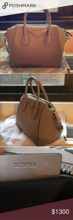 Givenchy small Antigona satchel Small stain on back (easily cleaned). Comes with receipt and dustbag. 100% authentic Givenchy Bags Satchels