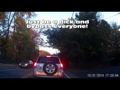 dash cam videos | drivershaming | It's OK To Be A Complete Dick