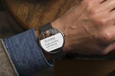 """Google anuncia relojes """"Android Wear"""" para este año..."""
