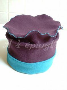 Chapeau en polaire de Mme Gentil Coquelicot mesdames
