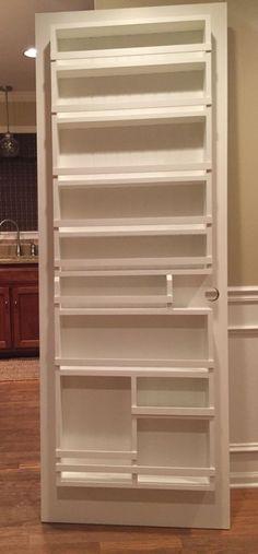 32+ Ideas Pantry Door Spice Rack Shelves #door