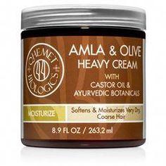Amla & Olive Heavy Cream Moisturizer for Hair How to Moisturize Dry Natural Hair (Tips for Long Hair Tips, Natural Hair Tips, Natural Hair Styles, Natural Oils, Hair Care Tips, Natural Beauty, Dry Brittle Hair, 4b Hair, Coily Hair