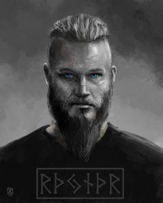 Ragnar Lothbrok from Vikings