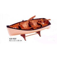 Maqueta de barca bote de pesca o recreo