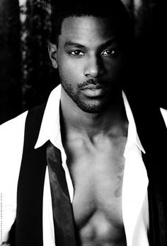 lance gross + Where did this beautiful chocolate man come from?