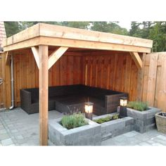 Picture result for the small vault, # picture result house – Small Balcony Decor Ideas Pergola Patio, Pergola Plans, Backyard Patio, Backyard Landscaping, Gazebo, Back Gardens, Outdoor Gardens, Patio Design, Garden Design