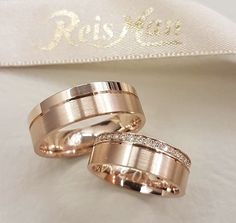 Beautiful Rose Gold bands by Which i e would you wear? Engagement Rings Couple, Couple Rings, Diamond Engagement Rings, Diamond Jewelry, Jewelry Rings, Jewelery, Jewellery Earrings, Stone Jewelry, Diamond Rings