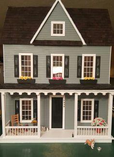 Vermont Farm Dollhouse By RC