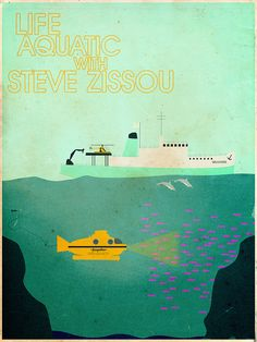 Life Aquatic With Steve Zissou by christian frarey, via Flickr