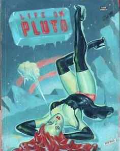 Vintage Sleaze: Ryan Heshka Artist and Illustrator for Vintage Sleaze Contemporary #34