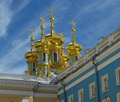 Catherine Palace's - Church