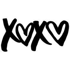 Silhouette Design Store: xoxo
