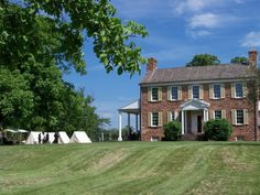 Ben Lomond Historic Site, Manassas, Virginia - It served as a Confederate hospital during 1st Manassas and was occupied by the Union during 2nd Manassas.